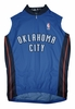 Oklahoma City Thunder Away Sleeveless Cycling Jersey Free Shipping