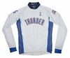 Oklahoma City Thunder Long Sleeve Cycling Jersey Free Shipping