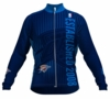 Oklahoma City Thunder Retro Long Sleeve Cycling Jersey