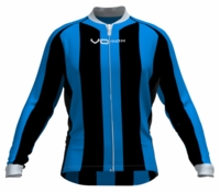 Orlando Magic Striped Long Sleeve Cycling Jersey
