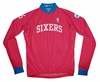 Philadelphia 76ers Away Long Sleeve Cycling Jersey Free Shipping