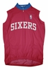 Philadelphia 76ers Away Sleeveless Cycling Jersey Free Shipping