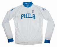 Philadelphia 76ers Long Sleeve Cycling Jersey Free Shipping
