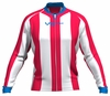 Philadelphia 76ers Striped Long Sleeve Cycling Jersey