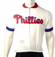 Philadelphia Phillies Cycling Jersey Free Shipping