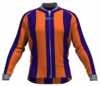 Phoenix Suns Striped Long Sleeve Cycling Jersey