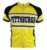 Pittsburgh Steel City Retro Cycling Jersey