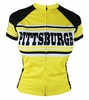 Pittsburgh Woman's Steel City Retro Cycling Jersey