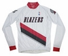 Portland Trail Blazers Long Sleeve Cycling Jersey Free Shipping