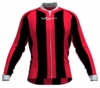 Portland Trailblazers Striped Long Sleeve Cycling Jersey