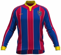 Real Salt Lake Long Sleeve Cycling Jersey