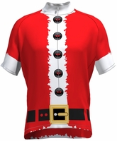Red Santa Suit Cycling Jersey