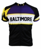 Retro Baltimore Purple Tall Extra Long Cycling Jersey