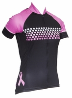 Ride Pink Women's Short Sleeve Cycling Jersey
