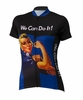 Rosie the Riveter Blue Women' Cycling Jersey