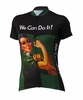 Rosie the Riveter Green Women's Cycling Jersey