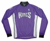 Sacramento Kings Away Long Sleeve Cycling Jersey Free Shipping
