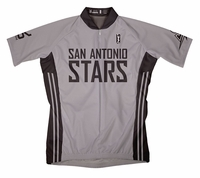 San Antonio Silver Stars Home Short Sleeve Cycling Jersey