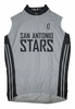 San Antonio Silver Stars Home Sleeveless Cycling Jersey
