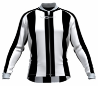 San Antonio Spurs Striped Long Sleeve Cycling Jersey