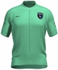 San Jose Earthquakes Flash Green Keeper Short Sleeve Cycling Jersey