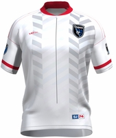 San Jose Earthquakes Secondary Short Sleeve Cycling Jersey