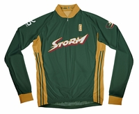 Seattle Storm Away Long Sleeve Cycling Jersey