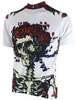 Grateful Dead Skeletons & Roses Cycling Jersey Free Shipping