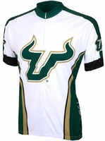 South Florida Bulls Cycling Jersey Free Shipping