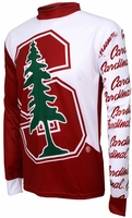 Stanford Cardinals Long Sleeved Bike Jersey