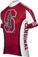 Stanford University Cardinals Cycling Jersey Free Shipping