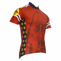 STL Style Men's Cycling Jersey