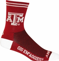 Texas A & M Cycling Socks