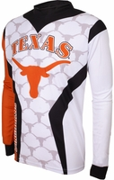 Texas Longhorns Long Sleeved Bike Jersey