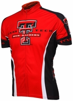 Texas Tech University Red Raiders Cycling Jersey Free Shipping