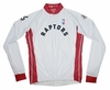 Toronto Raptors Long Sleeve Cycling Jersey Free Shipping