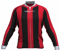 Toronto Raptors Striped Long Sleeve Cycling Jersey