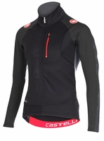 Trasparente 3 Wind Cycling Jersey FZ - Black/Anthracite