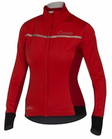 Trasparente 3 Women's Cycling Jersey FZ - Red/Ruby