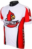 University Louisville Cardinals Cycling Jersey Free Shipping