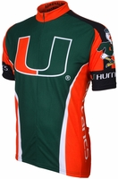 University of Miami Hurricanes Cycling Jersey Free Shipping
