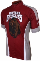 University of Montana Grizzlies Cycling Jersey Free Shipping