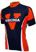 University of Virginia Cavaliers Cycling Jersey Free Shipping