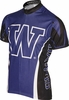 University of Washington Huskies Cycling Jersey Free Shipping