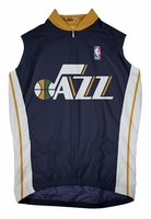Utah Jazz Away Sleeveless Cycling Jersey Free Shipping
