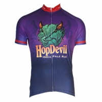 Victory Brewing Hop Devil Men's Short Sleeve Cycling Jersey