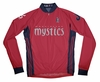 Washington Mystics Away Long Sleeve Cycling Jersey
