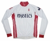 Washington Mystics Home Long Sleeve Cycling Jersey