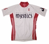 Washington Mystics Home Short Sleeve Cycling Jersey