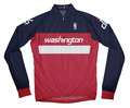 Washington Wizards Away Long Sleeve Cycling Jersey Free Shipping